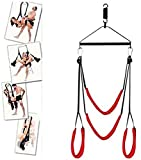 Couple Sêx Props Indoor Relax Safe Toys Adjustable Length Šēx Swivel Šwīng Hanging On Door Exercise Entertainment Tool