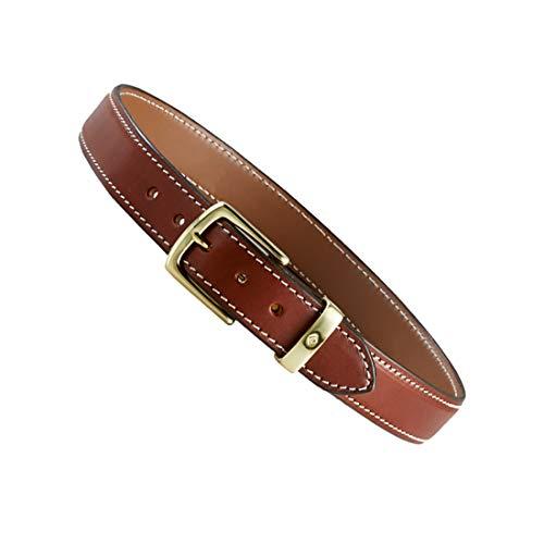Aker Leather mens B21 1-1/2' Concealed Carry Gun Belt , Tan