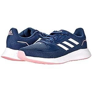 adidas Runfalcon 2.0 Running Shoe, Crew Navy/White/Super Pop, 6 US Unisex Big Kid