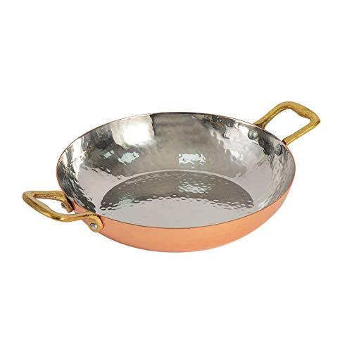 ProCook Balti Dish zum Servieren - Balti Schüssel - 17 cm - gehämmerter Kupfer - Wunderschöne Optik und Präsentation - Servierschale - Balti Dish