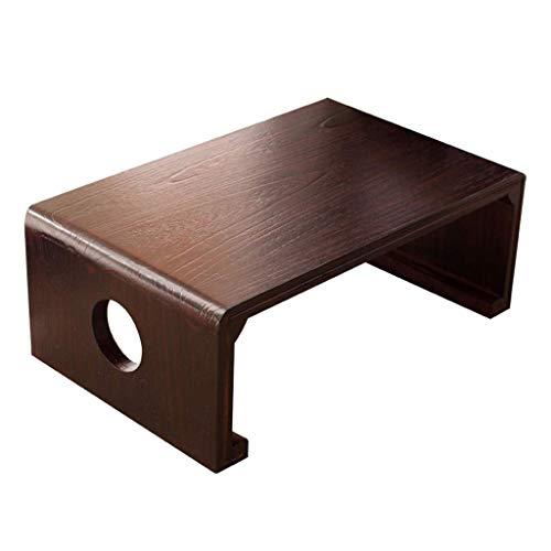 HIGHKAS Holz Couchtisch Mini Tisch Niedriger Tisch Einfacher Kleiner Teetisch Laptop Tisch Studiertisch Schlafzimmer Frühstückstisch (Farbe: C, Größe: 70X45X30CM)