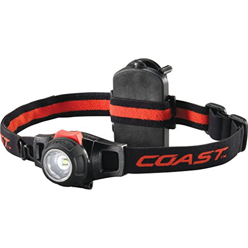 COAST HL7 305 Lumen Focusing LED Headlamp with Twist Focus