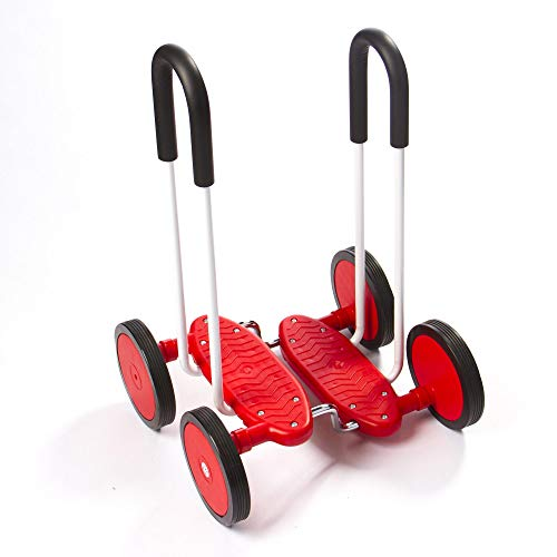 Fat Brain Toys Wheel Walker - Walking Wheels Active Play for Ages 3 to 5