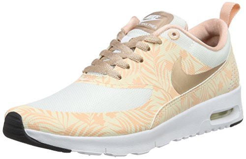 Nike Unisex Air Max Thea Print GS Low-Top, Beige (Beige 834320-100), 36 EU
