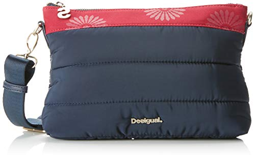 Desigual Bols_magic Durban - Borse a tracolla Donna, Blu (Navy), 4x17.5x27.2 cm (B x H T)