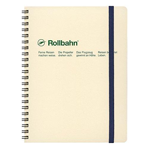 デルフォニックス ロルバーン ポケット付メモ [リング式/切離しミシン目付き] A5 クリーム NRP08-CR
