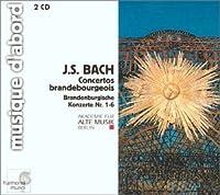 Brandenburg Concertos 1-6 by Bach