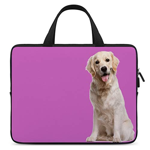Laptop Carrying Bag,MacBook Handbag,Notebook Computer Sleeve Bag,17inch,Cover for Apple/MacBook/HP/Acer/Asus/Dell/Lenovo/Samsung,Color of Dog Mammal Golden Retriever Carnivore