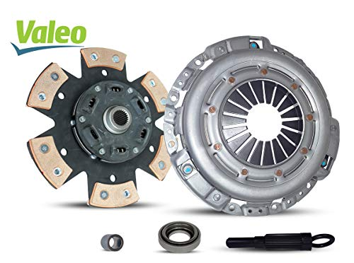 Clutch Kit Valeo Compatible With 350Z G35 Journey Base Enthusiast Grand Touring Track Performance 2003-2007 3.5L V6 Gas Dohc Naturally Aspirated (6-Puck Stage 2; Vq35De; 3.5L All Models)