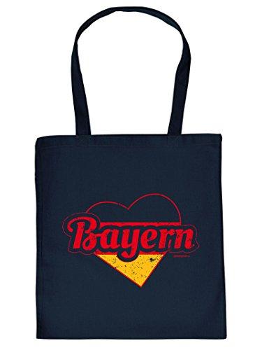 Aktuelle Stoff/Tragetasche mit Bayern-Motiv: Bayern Goodman Design
