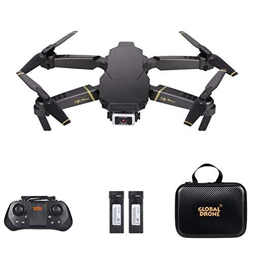 Leeofty Drone GD89 Pro RC con cámara Cámara 4K Modo de Flujo óptico Cámara Dual Automático Evitar obstáculo Pista Sensor de Gravedad de Vuelo Modo sin Cabeza 3D Flip RC Quadcopter para Adultos Niños