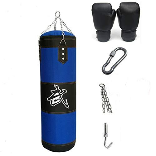 Boxing Bag Set Lege Zware Ponsen Training Bag Fitness Zand Tas met Handschoenen en Haak Gesp Kettingen