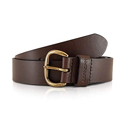 Carhartt Women's Signature Casual Belt, Jean Brown, X-Large