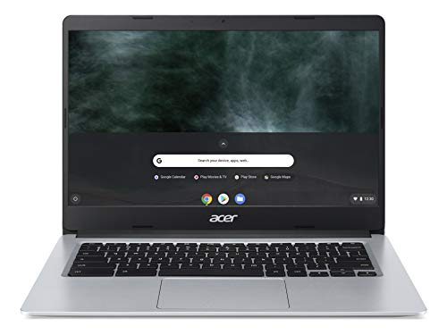 Acer Chromebook 314 CB314-H - (Intel Celeron N4000, 4GB RAM, 32GB eMMC, 14 inch HD display, Chrome OS, Silver)