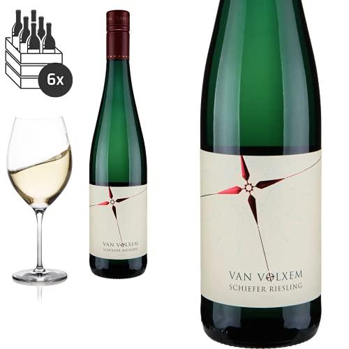 6er Karton 2019 Schiefer Riesling trocken von Weinmanufaktur van Volxem - Weißwein