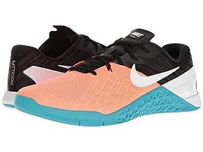 NIKE Mens Metcon 3 Training Shoe (15 D US, Hyper Orange/White/Black)