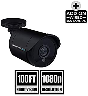 Night Owl Security 1 Pack HD Analog 1080p Camera (Black, Replacement Camera Only, No Charger, No Cable)