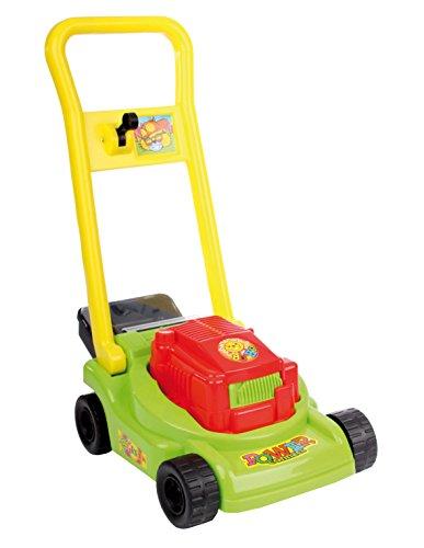 Molteni Toller Kinder Rasenmäher mit Grasfang und Geräusch rot oder grün (Grün)