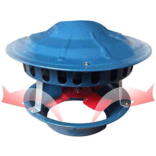 WYJW Schornstein-Rauchabsauger, Schornsteinlüfter Kamin-Abluftventilator-Abluftventilator, Schornstein-Luftzug-Abluft-Schornstein-Abluftventilator für Kaminprofi für Grillluftabsaugung,