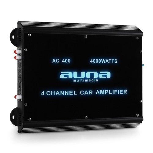 Auna Ampli Auto 4 canaux/Sono Tu...