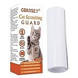 CBROSEY Protector de Muebles Gatos,Protector de sofá para Detener Mueble,Transparente Autoadhesivas contra Arañazos de Gato Protector para Gatos y Perro,3pcs