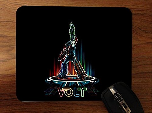 Voltron Tron Crossover Art Desktop Office Silicone Mouse Pad by MWCustoms