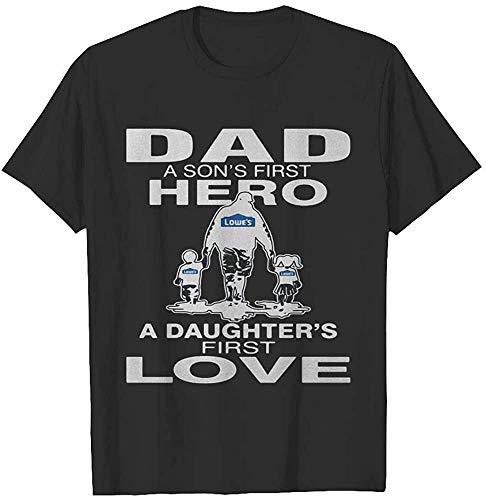LoweÂ&Euro;S Dad A SonÂ&Euro;S First Hero A DaughterÂ&Euro;S First Love Happy FatherÂ&Euro;S Day T-Shirt, Hoodie, Sweatshirt, Gift For Men Women Love Shirt