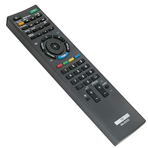 RM-ED022 Mando a distancia de repuesto - VINABTY Reemplace Control Remoto para Sony KDL-32BX400 KDL-22EX302 KDL-26EX302...
