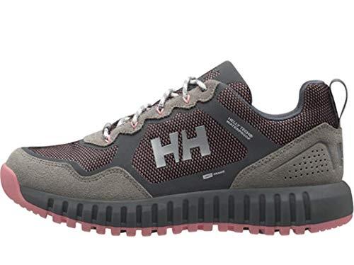 Helly Hansen W MONASHEE ULLR Low HT, Botas de Senderismo Mujer, Multicolor (Charcoal/New Light Grey 964), 36 EU