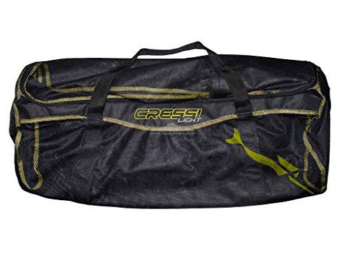 Cressi - Bolsa Light, Color Amarillo,Negro