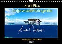 Sea-Pics Unterwasserfotografie (Wandkalender 2022 DIN A4 quer): Unterwasseraufnahmen aus Suedostasien (Monatskalender, 14 Seiten )