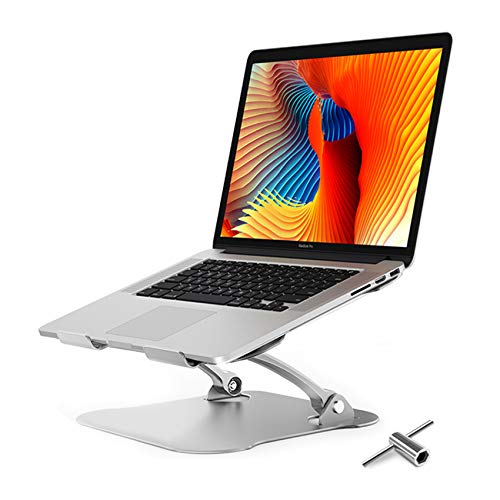 Laptop Stand,Ergonomic Aluminum Computer Stand,Adjustable Laptop Riser Notebook Holder Stand for Desk Compatible with MacBook,MacBook Pro,Air Pro, Dell, More 10-17.3' Laptops [with Detachable Tool]