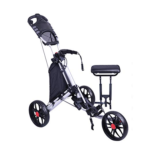 Fantastic Prices! KXDLR Golf Tri Cart, Multifunctional Golf Cart, High-end Golf Trolley, New Golf Ca...
