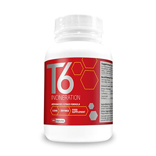 Weight Management Systems T6 Fat Incineration Capsules, 60-Count
