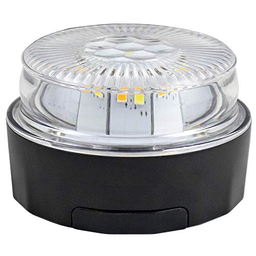 Baliza señalizacion de emergencia LED 24 homologado V16, tipo emergencia flash.