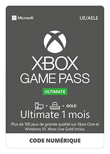 Abonnement Xbox Game Pass Ultimate 1 Mois Xbox Onewin 10 Pc Code Jeu à Télécharger