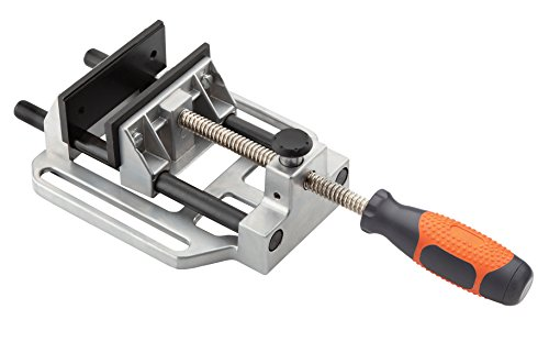 Bora Drill Press Vise Bora 551027 – The Sturdy, Quick Release Clamp that Attaches to Your Drill Press Table and Holds Your Material Fast for Easy Drilling