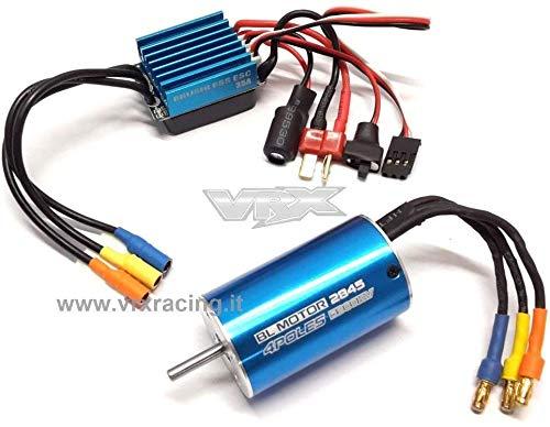 VRX Combo Classic 2845/2Y 5900KV + ESC 35A brushless Sensorless 1/12 1/14 1/16