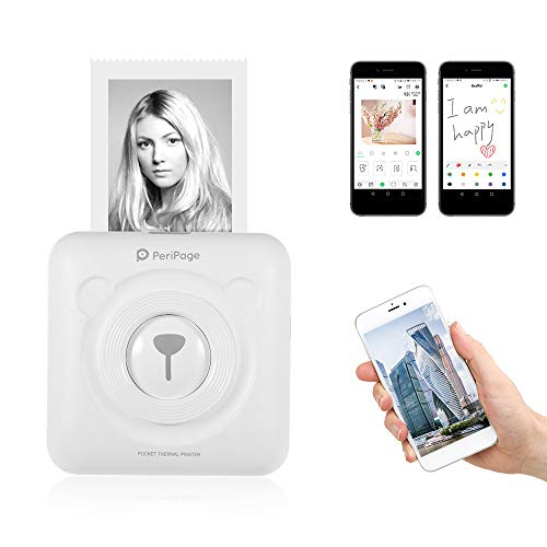 Aibecy-PeriPage Mini Pocket Wireless BT Impresora térmica I