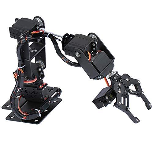 B Baosity Robot de Abrazo Mecánico para Aprendizaje de Teoría de Control de Brazo robótico automático