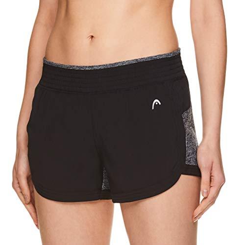 HEAD Pantalones cortos deportivos para mujer - Tenis gimnasio entrenamiento y running - - XL