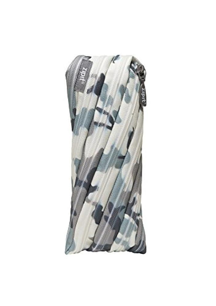ZIPIT Camo Pencil Case, Grey Camouflage