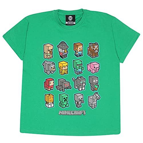 Popgear T-Shirt Camiseta, Verde Kelly, 7-8 Años para Niños