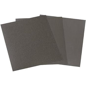 42 hojas INTVN Papel de lija de grano 120 a 3000 Grit Papel de lija h/úmedo para madera 9 x 3.6 pulgadas para pulido de autom/óviles lijado seco o h/úmedo