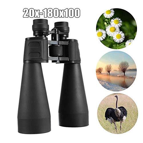 AFDK Binoculares para adultos Observación de aves Compacto con binoculares livianos Correa y trípode y estuche para viajes de larga distancia