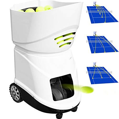 VEVOR Máquina de Pelota para Tenis Portátil Servicio Ligero de Pelota para Tenis Maquina para Tenis Adecuado para Profesionales y Principiantes