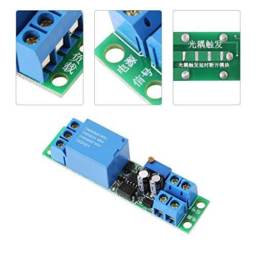 Módulo de interruptor de temporizador, módulo de interruptor de retardo de apagado, DC12V para el desarrollo inteligente de productos Equipo de automatización de retardo de lámpara de