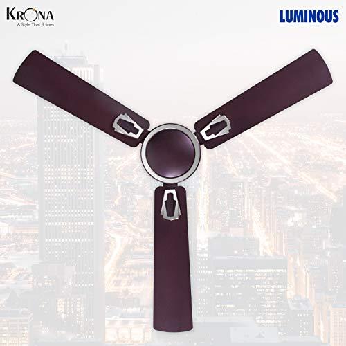 Luminous Krona 1200mm 70-Watt Ceiling Fan (Lavender)