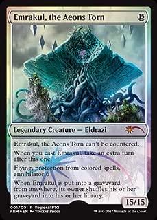 Magic: The Gathering - Emrakul, The Aeons Torn - 001/001 - Regional PTQ Promo - Unique & Misc Promos