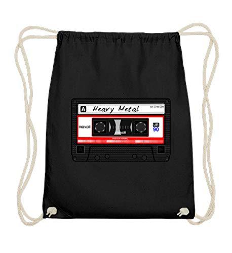 Fuck MP3! | Old School Heavy Metal Kassette Tape - Baumwoll Gymsac
